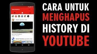 Cara Menghapus Riwayat Tontonan dan Pencarian Video yang Ditonton di Youtube
