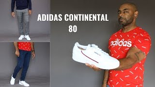 How To Wear The Adidas Continental 80