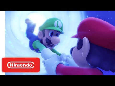 Mario + Rabbids Kingdom Battle Launch Trailer - Nintendo Switch thumbnail