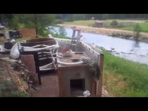 Redwood Hot Tub Installation - Heating with a Poor Man's Boiler