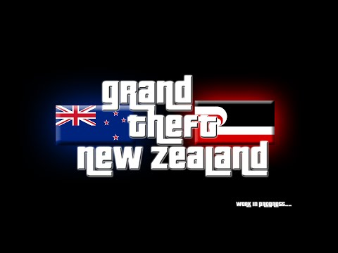 Grand Theft Auto New Zealand Is A Thing That Exists, Bro