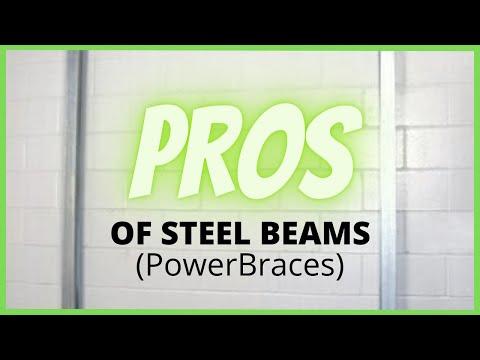 🐊Steel Beams (Power Braces)- The Upsides | Foundation Repair