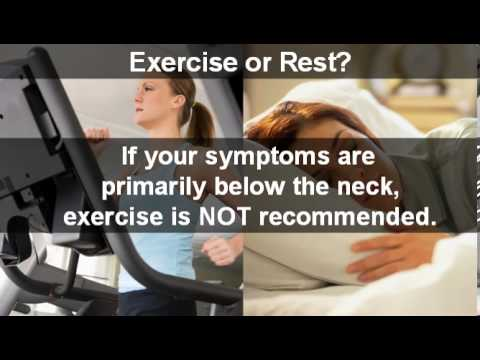 Exercise or Rest?