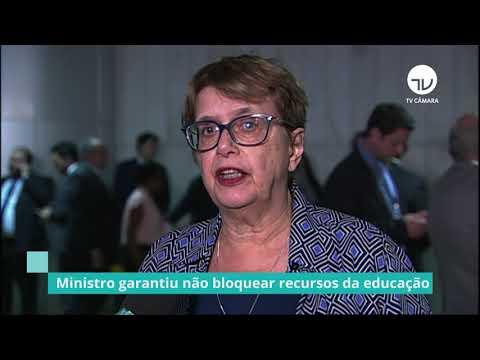 Ministro garante não bloquear recursos da educação - 14/08/19