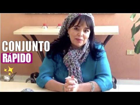 JUEGO TEJIDO BUFANDA Y GORRO - Con DEDOS fácil y rápido - Tejiendo con LAURA CEPEDA