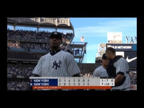 Mets vs. Yankees | MLB Today (MLB® The Show™ 20) 8/28