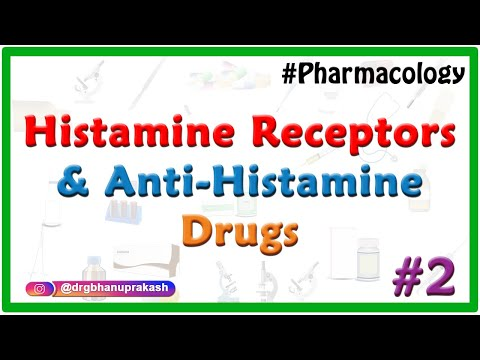 Pharmacology of Histamine , Histamine receptors and Anti-histamine Drugs : Part 2