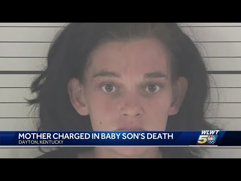 Kentucky mother charged in baby son's death