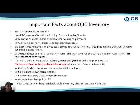 Pros and Cons of QuickBooks Online vs QuickBooks Desktop for Inventory