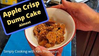 apple crisp with yellow cake mix