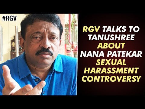 RGV Talks to Tanushree about Nana Patekar Sexual Harassment Controversy | Ram Gopal Varma