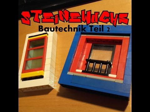 Steinewuchs Bautechnik Teil 2