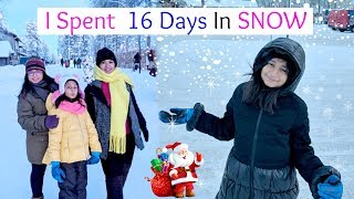 I SPENT 16 DAYS in SNOW in EUROPE | #Vlog #Travel #Vacations #MyMissAnand
