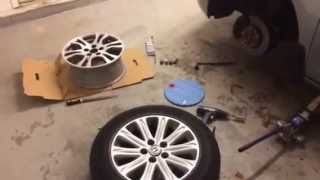 Honda Odyssey removal of the PAX depax tire warnings. Part 1