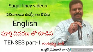 Sachivalayam jobs english