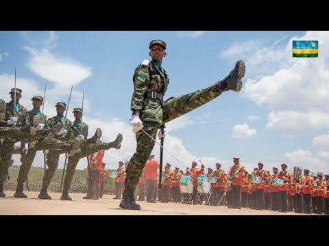 Africans Incredible Military PARADE you must Watch in 2019: RDF Military best Parade