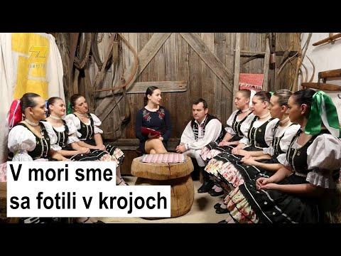 FOLKLÓR NA ZEMPLÍNE - Harčarki z Pozdišoviec