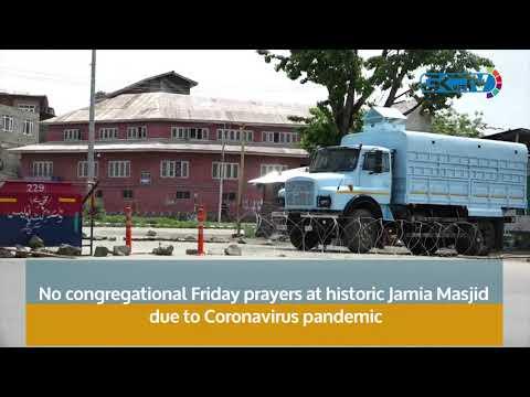 No congregational Friday prayers at historic Jamia Masjid due to Coronavirus pandemic