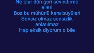 Mustafa Ceceli Eksik Karaoke ( ORJINAL ) By: SeWdAy..;))