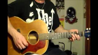 rainy day dream away Jimi H  acoustic lesson