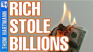 The Rich Cheated You Out Of $381 Billion Dollars! (w/ David Sirota)