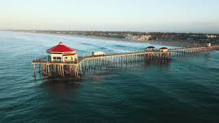Huntington Beach - 4K Drone Footage (Shot with DJI Mavic Pro)