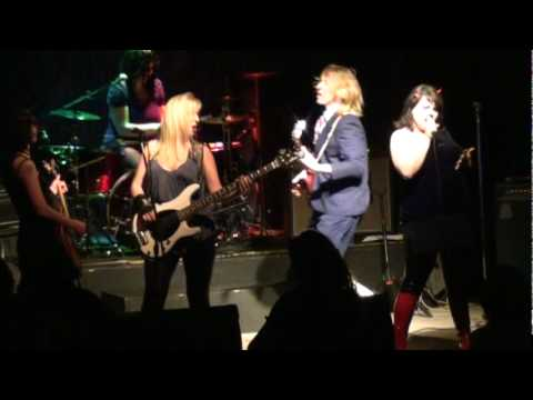 AC/DDC medley Mt Tabor Theater, Dirty Deeds, Rock n Roll Aint Noise Pollution, Back in Black