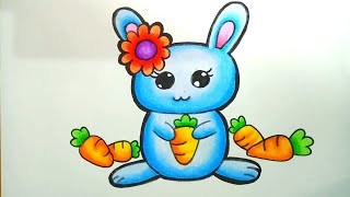 Menggambar Kelinci Makan Wortel मफत ऑनलइन
