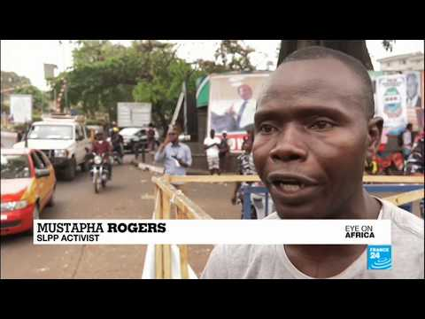 Sierra Leone: Opposition campaigners take to the street to protest vote postponement