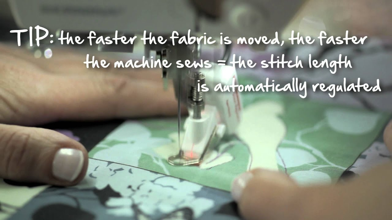 7/10 BERNINA 580: free motion quilting with the BERNINA Stitch Regulator