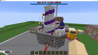WillyWonka's Chocolate Factory In Minecraft Custom Build (first Video!)