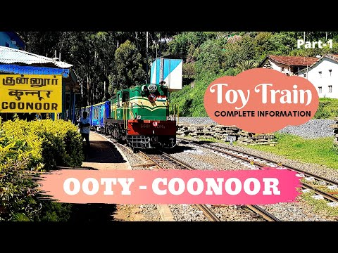Ooty Coonoor Toy Train Journey - UNESCO World Heritage Site