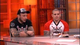 MMA LEGENDE - Vaso Bakocevic i Dusan Dzakic - DJS - (TV Happy 21.01.2019)