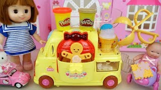 Baby Doll Cookie Car Play Doh IceCream Toys Baby Doli Play