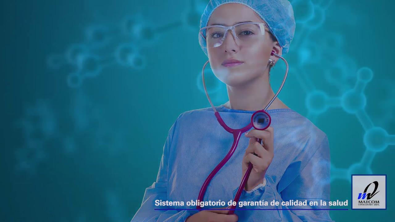 Sistema obligatorio de garantía de la calidad en salud