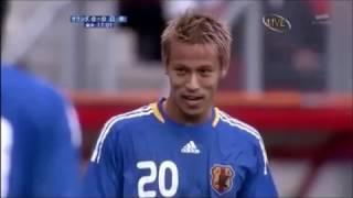 本田圭佑.中村俊輔.フリーキック衝突「おれ、だって!」動画オランダ戦「2009/9/5」