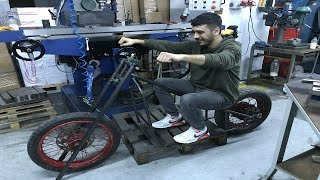 HARLEY DAVİDSON (BOBBER) MOTOSİKLET YAPIMI!! BÖLÜM 1(Custom Bobber-Chopper Build)''Shadow'' HD