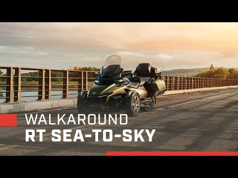 2021 Can-Am Spyder RT Sea-to-Sky in Montrose, Pennsylvania - Video 2