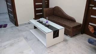 Modern Living Room Interior Design || Initiative Of Sofa, Center Table, LCD Unit, CNC Jali