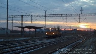 preview picture of video '[PKP PLK S.A.] WM15A - 4801 - popołudniowy przelot drezynki przez stację Staszów'