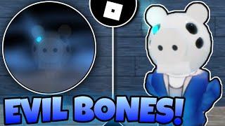 How To Get ''EVIL BONES'' BADGE + SANS PIGGY MORPH | Piggy RP : Infection | Roblox