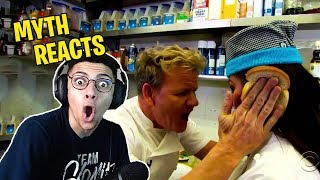 TSM Myth Reacts to Gordon Ramsay BEST INSULTS COMPILATION!!