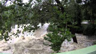 preview picture of video 'Hurricane Irene - Moodna Creek, Cornwall NY 8-28-11'