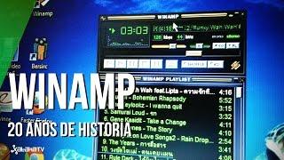 Winamp, 20 años de vida del reproductor de MP3 más popular