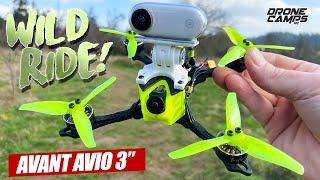 "WILD RIDE 3"" RIPPER! - Avant Quads AVIO 3"" Freestyle Drone - FULL REVIEW & FLIGHTS"
