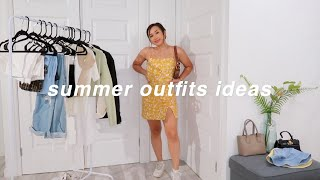 SUMMER OUTFIT IDEAS 2020 🌻 | Cute & Casual Summer Lookbook