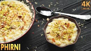 How to Make Phirni at Home  - Eid Special Dessert Recipe - Phirni Recipe