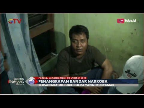 Penangkapan Bandar Narkoba di Padang, Polisi Temukan 3 Paket Sabu - BIM 22/10
