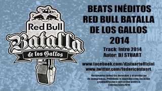 DJ Stuart - Beats Inéditos Batalla De Los Gallos 2014