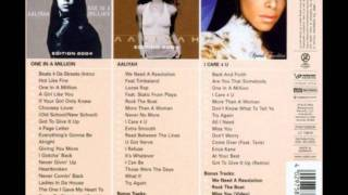 aaliyah - Come Back In One Piece (instrumental)